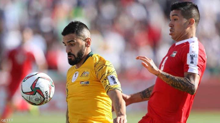 هزيمة المنتخب الفدائي الفلسطيني بثلاثية أمام أستراليا