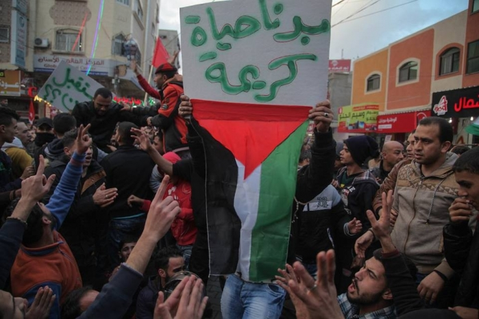 الشعبية تدعو حماس للتوقف عن ملاحقة وقمع المتظاهرين وسحب الأجهزة الأمنية من الشارع