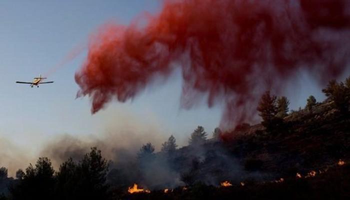 5 حرائق في المستوطنات المُحيطة بغزة بفعل بالونات حارقة