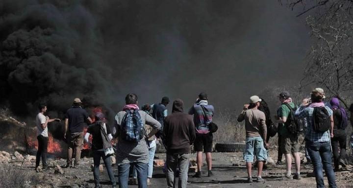 إصابات خلال مواجهات مع قوات الاحتلال في الضفة