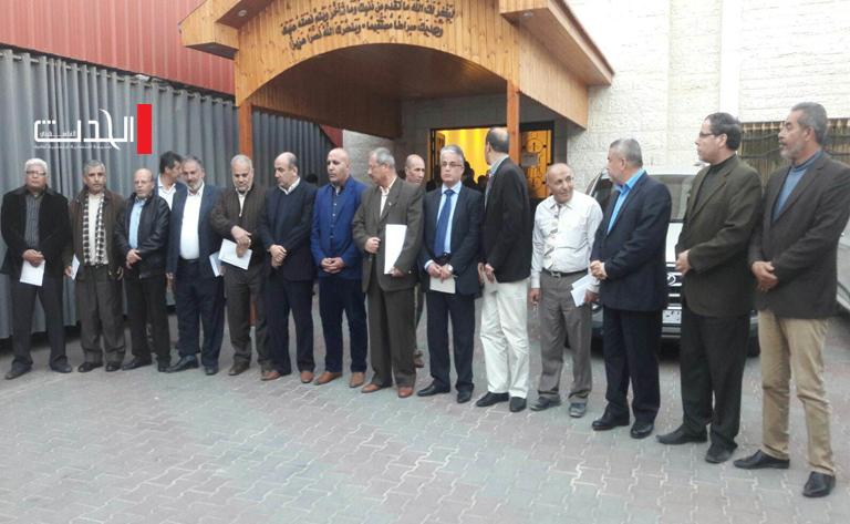 الفصائل الفلسطينية تدعو الرئيس عباس ورامي الحمدالله  للذهاب إلى غزة