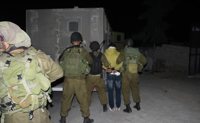 الاحتلال يعتقل 7