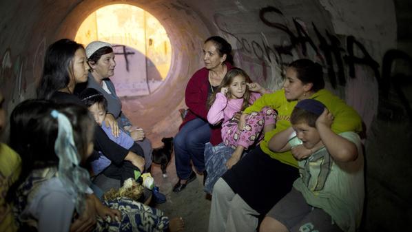 تأثيرات صواريخ غزة
