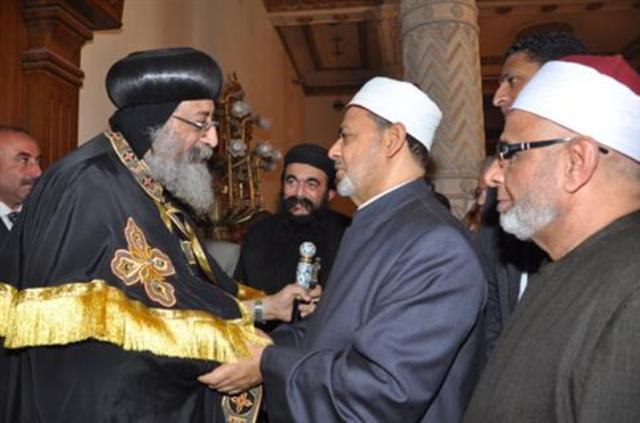الكنيسة المصرية: نتعاون مع الأزهر في مواجهة الإلحاد