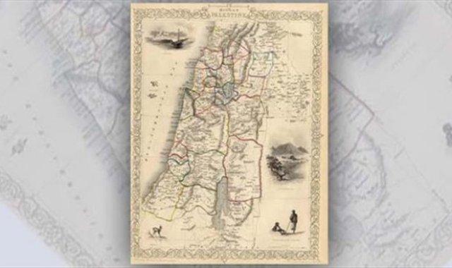 خريطة تاريخية فلسطينية