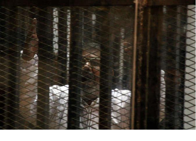 مرسي يهتف لغزة مع