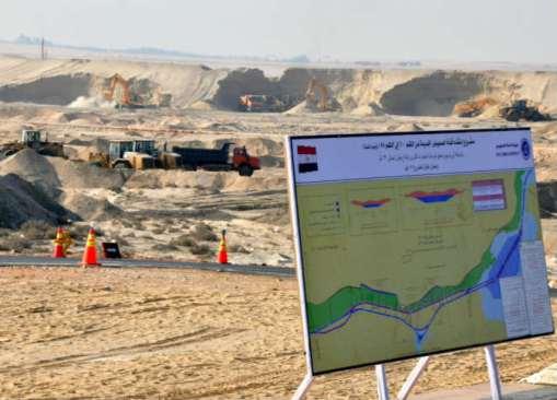 9 ملايين متر مكعب حجم نواتج الحفر في 9 أيام بمشروع تفريعة قناة السويس