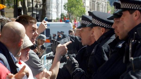 مظاهرات بريطانية