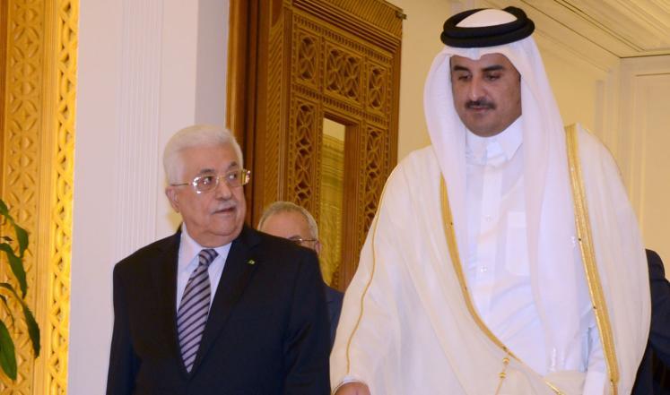 الرئيس عباس يجتمع