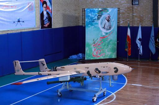 ايران تكشف عن طائرة