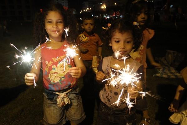 أطفال غزة في سلسلة