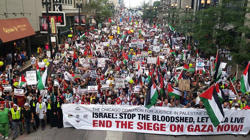 في أكبر ائتلاف من نوعه..تظاهرة كبرى يوم السبت أمام البيت الأبيض دعما لغزة