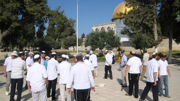 جماعات 'الهيكل' تقتحم
