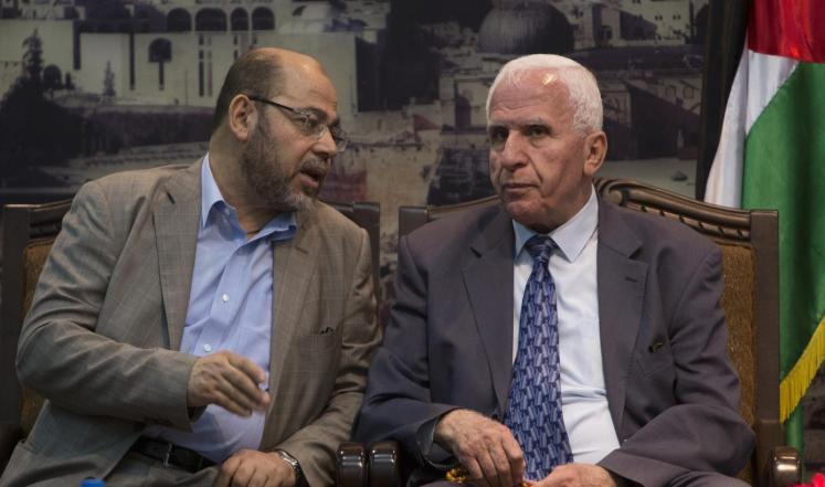الوفد الفلسطيني للقاهرة
