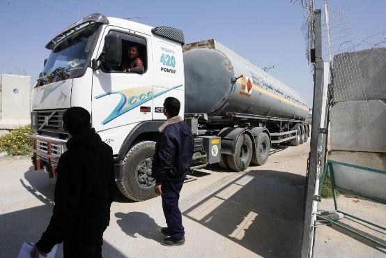 طاقة غزة: الوقود الوارد