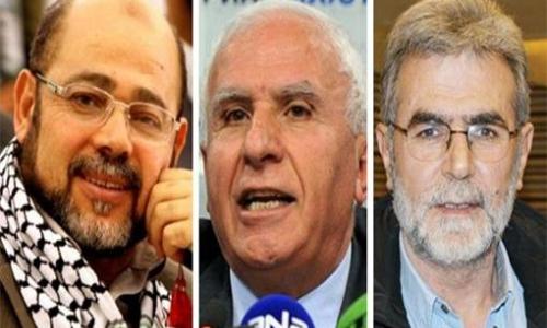 الوفد الفلسطيني إلى