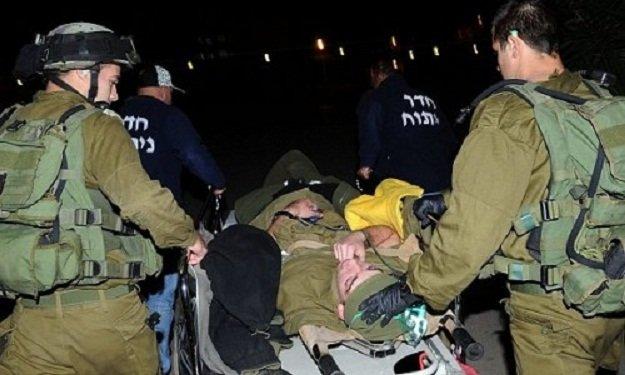 نقل 7 جنود إسرائيليين