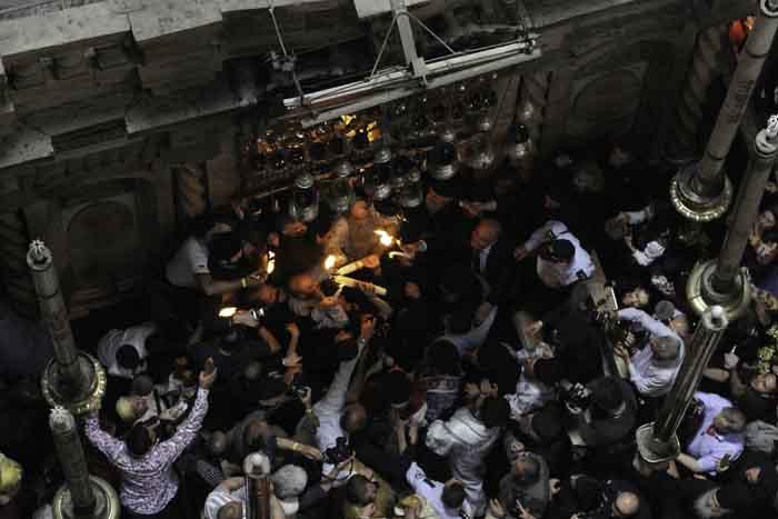 3500 مسيحي مصري يحتفلون