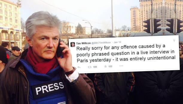 حملة على مراسل bbc: لتحدّثه عن معاناة الفلسطينين