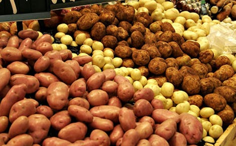 البطاطا والسمك يتصدران