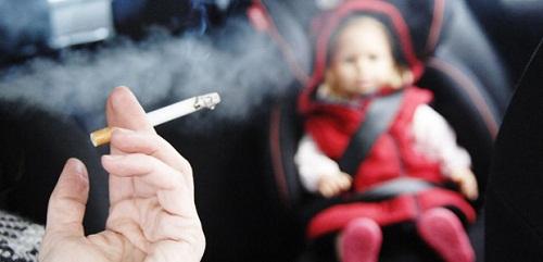 التدخين السلبي يؤدي