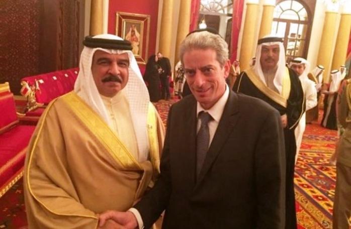 ملك البحرين يحتفل بعيد