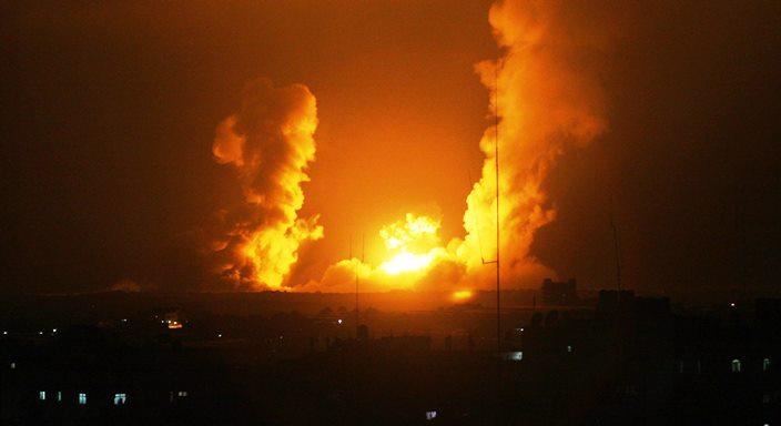 الاحتلال يشن غارتين على غزة