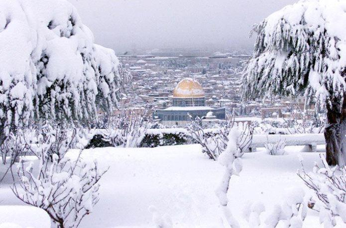 متابعة الحدث| فلسطين على موعد مع الثلوج بداية العام 2016