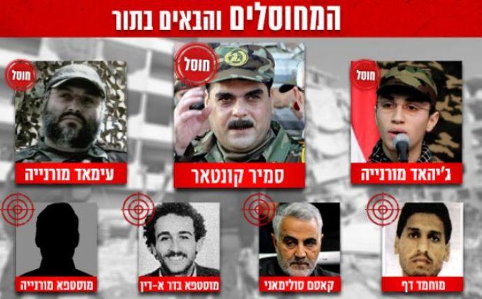 يديعوت: بعد القنطار.. هذه الأسماء على قائمة الاغتيال الإسرائيلي
