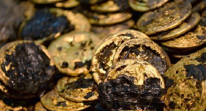 الصين تعلن اكتشاف مقبرة أثرية عمرها 2000 عام تحتوي على 358 جسم ذهبي