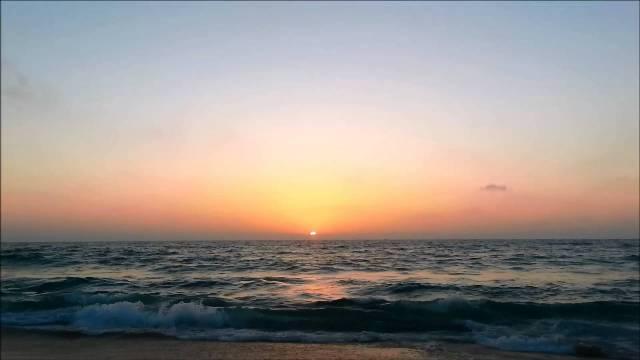 قبالة شواطئ غزة