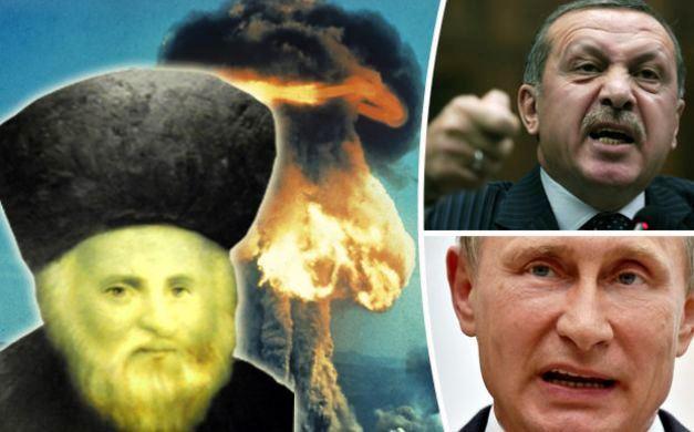 نبوءة يهودية..حرب روسية تركية تنهي العالم