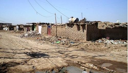 2.5 مليون عراقي يسكنون