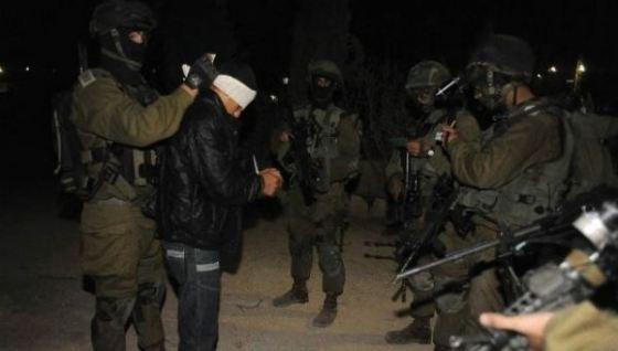 الاحتلال يعتقل 13