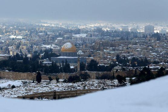 تعليمات من بلدية الاحتلال للمقدسيين استعدادا للعاصفة الثلجية