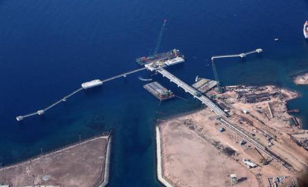 ميناء الغاز الجديد