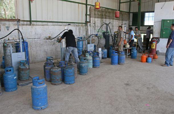 محطات توزيع الغاز