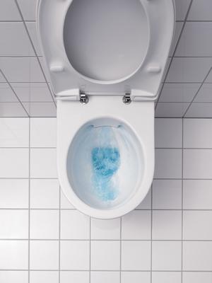 مراحيض مضاءة بـ
