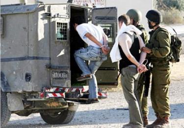 اعتقال خمسة مواطنين
