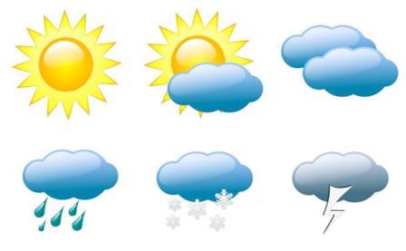 الطقس: صاف وارتفاع
