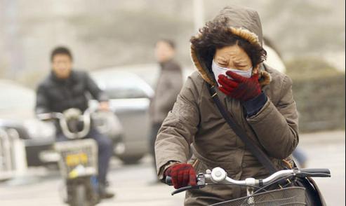 تلوث الهواء يرفع