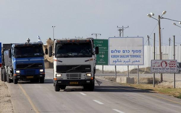 ادخال 670 شاحنة لقطاع