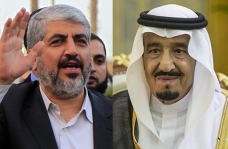 الملك سلمان يلتقي مشعل وإفراج وشيك عن معتقلي حماس بالمملكة