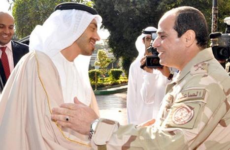 تحالف مصري إماراتي