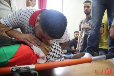 شاهد الحدث: جنازة الشهيد محمد أبو لطيفة