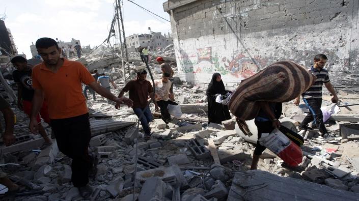 تسليم أكثر من ألف وحدة سكنية تمولها قطر في غزة