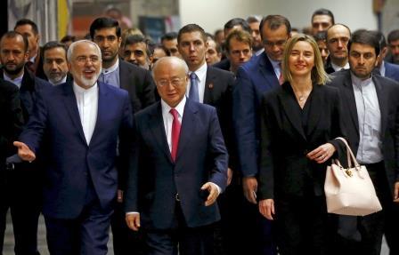 أمريكا والاتحاد الأوروبي يرفعان العقوبات عن إيران