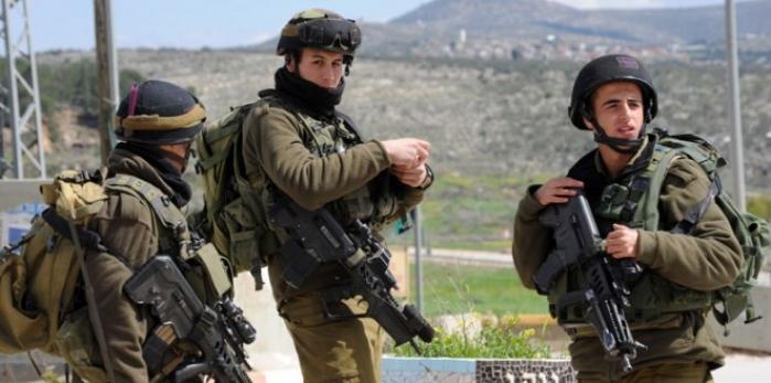 تدريب جنود الاحتلال على