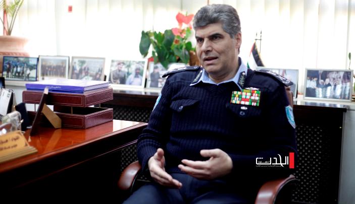 #الحدث_V: مقابلة اللواء حازم عطا الله مدير عام جهاز الشرطة الفلسطينية
