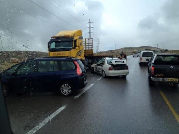 وفاة مواطن وإصابة عشرة  في حادث سير شمال بيت لحم